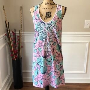 Simply Southern Seahell Tank Top Vacation Dress